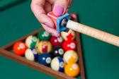 Billiards' elements — Stock Photo