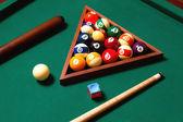 Elementi di biliardo — Foto Stock