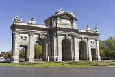 The Puerta de Alcalá, Madrid — Stok fotoğraf