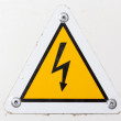 High voltage sign — Stock Photo #18589983