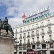 Tio Pepe sign in Puerta del Sol, Madrid, Spain — Stock Photo #45392387