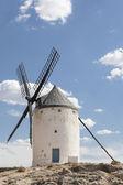 Beautiful windmill in Consuegra, Toledo, Spain — Stock Photo