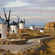 Traditional Spain - windmills of Don Quixote - Stock Photo