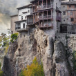 Stock Photo: Impressive Spain - famous hanging houses in Cuenca