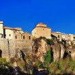 Beautiful amazing city of Spain - Cuenca, panoramic view - Stock Photo