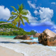 Idyllic tropical scenery - Seychelles — Stock Photo #12745258