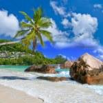 Idyllic tropical scenery - Seychelles — Stock Photo