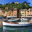 Royalty-Free Stock Photo: Portofino, Italy. pictorial bay