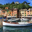 Portofino, Italy. pictorial bay — Stock Photo