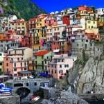 Colors of sunny Italy series - Monarolla, Cinque terre — Stock Photo #12745322