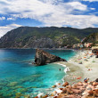 Monterosso - Cinque terre, pictorial Italian riviera series — Stock Photo #12745364