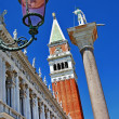 Venice, San Marco square, architectural details  — Stock Photo