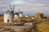 Traditional Spain - windmills of Don Quixote — Stock Photo