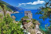 Pictorial italienische küste - monterosso — Stockfoto