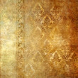 Vintage shabby wall paper with classy patterns - Stock Photo