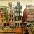 Stock Photo: Amsterdam - retro styled picture