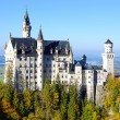 Amazing Neuschwanstein castle - Stock Photo