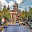 Beautiful Amsterdam canals — Stock Photo #12768128
