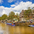 Beautiful Amsterdam canals — Stock Photo #12768144