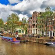 Beautiful Amsterdam canals — Stock Photo #12768146
