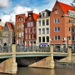 Beautiful Amsterdam canals — Stock Photo #12768148
