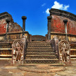 Stock Photo: Ancient Polonnaruwtemple - medieval capital of Ceylon,UNESCO World Heritage Site