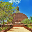 Polonnaruwa , ancient stupa. travel in Sri lanka series — Stock Photo