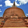 Polonnaruwa , ancient stupa. travel in Sri lanka series - Stock Photo