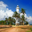Pictorial view of light houe - Galle fort (Sri Lanka) — Stock Photo #12768289
