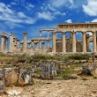 Temple of Orfeas in Aegina island, the prototipe of Acropolis - Stock Photo