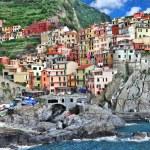 Colors of sunny Italy series - Monarolla, Cinque terre — Stock Photo #12768441