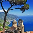 Pictorial Amalfi coast - Ravello — Stock Photo