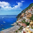 Beautiful Positano. Amalfi coast. bella italia series — Stock Photo #12768578