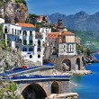 Stanning Amalfi coast - Atrani village — Stock Photo