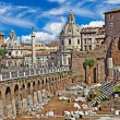 Greatest italian landmarks series - Roman Forums — Stock Photo