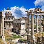 Great Roman landmarks - Forums — Stock Photo #12768611