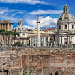 Greatest italian landmarks series - Roman Forums - Stock Photo