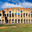 Great Colosseum, italian landmarks series — Stock Photo #12768619