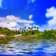 Foto Stock: Island of dream