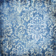 Royalty-Free Stock Photo: Shabby denim texture with classy patterns