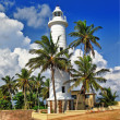 Pictorial view of light houe - Galle fort (Sri Lanka) — Stock Photo #12768722