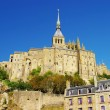 Famous Mont-saint-michel (Normandy) - Stock Photo