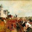 Stock Photo: Castles of France (Montresor)- artistic retro picture