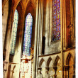 Catholic cathedral in Ruan-France -artistic picture — Stockfoto
