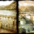 Old Montenegro - vintage photo-album series — Stock Photo