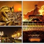Paris vintage photoalbum series — Stock Photo