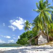 Stock Photo: Tropical bungalow