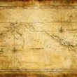 Ancient map — Stockfoto