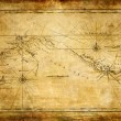 Stockfoto: Ancient map