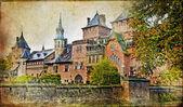 Medieval castle - vintage artistic picture — Stock Photo